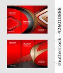 business tri fold brochure ... | Shutterstock .eps vector #426010888