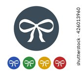 gift ribbon icon isolated on... | Shutterstock .eps vector #426013960
