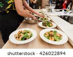 culinary workshop  | Shutterstock . vector #426022894