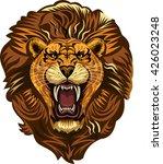 lion king face | Shutterstock .eps vector #426023248