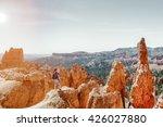 A Hiker Hiked At Bryce Canyon...