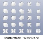 collection of geometric shapes. ... | Shutterstock .eps vector #426040570