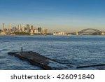 sydney harbor sunrise  australia   Shutterstock . vector #426091840