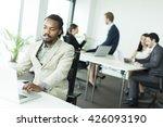 african american businessman... | Shutterstock . vector #426093190