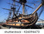 hms victory was admiral horatio ... | Shutterstock . vector #426096673