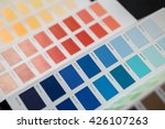 palette of colors | Shutterstock . vector #426107263