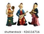 Ceramic Figurines Clowns...