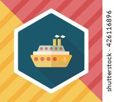 transportation ferry flat icon... | Shutterstock .eps vector #426116896