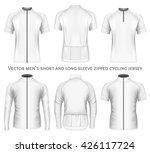 men's short and long sleeve... | Shutterstock .eps vector #426117724