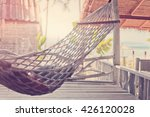 hammock in the cafe on the... | Shutterstock . vector #426120028