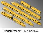 vector isometric illustration... | Shutterstock .eps vector #426120163