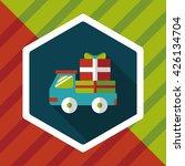 shopping freight transport flat ... | Shutterstock .eps vector #426134704
