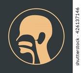 ear nose and throat logo vector | Shutterstock .eps vector #426137146