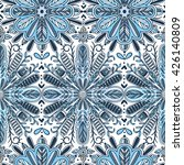 vector seamless pattern with... | Shutterstock .eps vector #426140809