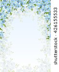 vector background with blue... | Shutterstock .eps vector #426155533
