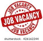 job vacancy. stamp | Shutterstock .eps vector #426162244