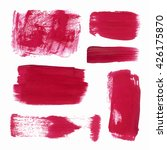 vector set of grunge brush...   Shutterstock .eps vector #426175870