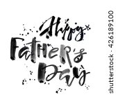fathers day concept hand... | Shutterstock . vector #426189100