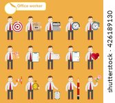 business people sketches... | Shutterstock . vector #426189130