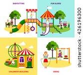 color flat composition 2x2... | Shutterstock .eps vector #426196300