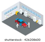 auto mechanic professional... | Shutterstock .eps vector #426208600