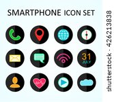 web icon set for smartphone ... | Shutterstock .eps vector #426213838