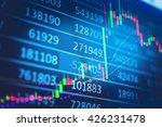 display of stock market quotes. ... | Shutterstock . vector #426231478