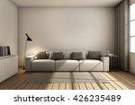 simple of livingroom set modern ... | Shutterstock . vector #426235489
