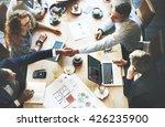 business people meeting... | Shutterstock . vector #426235900