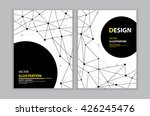 vector of abstract black... | Shutterstock .eps vector #426245476