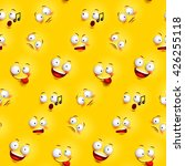 Seamless Smiley Face Pattern...