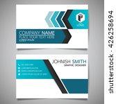 blue arrow modern creative and... | Shutterstock .eps vector #426258694
