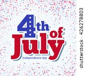 4th of july. independence day... | Shutterstock .eps vector #426278803