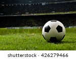 soccer on grass and stadium. | Shutterstock . vector #426279466