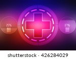 medical abstract background | Shutterstock . vector #426284029