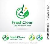 fresh clean logo template