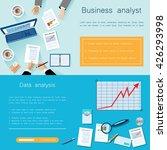 modern vector business concept  ... | Shutterstock .eps vector #426293998