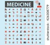 medicine icons  | Shutterstock .eps vector #426308779