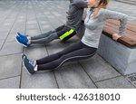 fitness  sport  exercising ... | Shutterstock . vector #426318010
