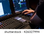modern show light controller... | Shutterstock . vector #426327994