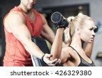 sport  fitness  bodybuilding ... | Shutterstock . vector #426329380
