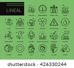 line vector icons in a modern... | Shutterstock .eps vector #426330244
