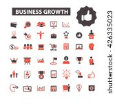business growth icons  | Shutterstock .eps vector #426335023