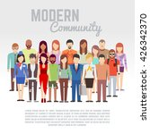 business or politics community  ... | Shutterstock .eps vector #426342370