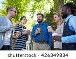 outdoor meeting | Shutterstock . vector #426349834