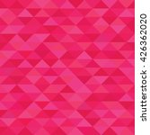 fuchsia triangle geometric... | Shutterstock .eps vector #426362020