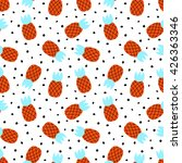 seamless pattern with... | Shutterstock .eps vector #426363346