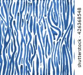 indigo shibori hand drawn... | Shutterstock . vector #426368548