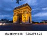 arc de triomphe in paris  france   Shutterstock . vector #426396628