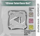 stone user interface element 20....